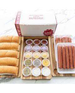 DIY Hot Dogs Box (Mini)