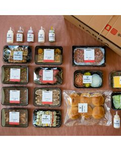 Habra BBQ Box - Large (8 people)
