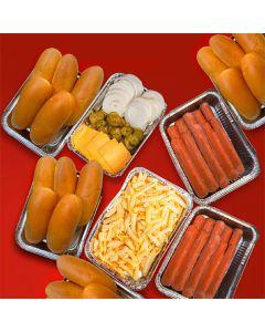 Hotdog Family BBQ Box