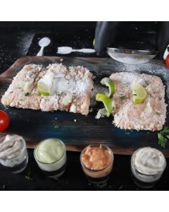 Hamour Fillet with Bread Crumbs