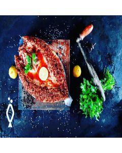 Marinated Seabass - Italian marination